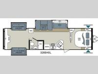 Floorplan - 2014 Dutchmen RV Aerolite 326BHSL