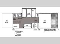 Floorplan - 2014 Forest River RV Flagstaff MAC LTD Series BR28TSC