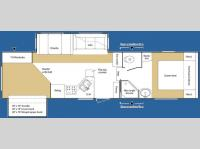 Floorplan - 2007 Keystone RV Sprinter Copper Canyon 294FWBHS
