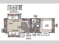 Floorplan - 2014 Forest River RV Flagstaff Classic Super Lite 8526RLWS