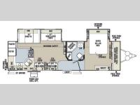 Floorplan - 2014 Forest River RV Flagstaff Classic Super Lite 831RKBSS
