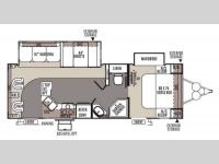 Floorplan - 2014 Forest River RV Rockwood Ultra Lite 2604WS