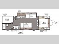 Floorplan - 2014 Forest River RV Rockwood Ultra Lite 2702SS