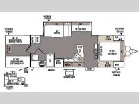 Floorplan - 2014 Forest River RV Rockwood Ultra Lite 2905SS