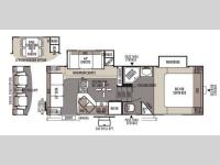Floorplan - 2014 Forest River RV Rockwood Signature Ultra Lite 8244WS