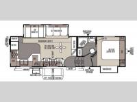 Floorplan - 2014 Forest River RV Rockwood Signature Ultra Lite 8280WS