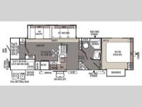 Floorplan - 2014 Forest River RV Rockwood Signature Ultra Lite 8286WS