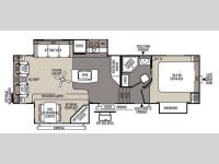 Floorplan - 2014 Forest River RV Rockwood Signature Ultra Lite 8289WS