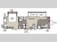 Floorplan - 2014 Forest River RV Rockwood Signature Ultra Lite 8315BSS