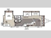 Floorplan - 2014 Forest River RV Rockwood Signature Ultra Lite 8319SS