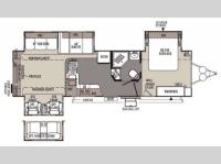 Floorplan - 2014 Forest River RV Rockwood Signature Ultra Lite 8325SS