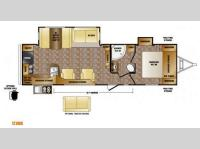 Floorplan - 2014 CrossRoads RV Sunset Trail Reserve ST30RK