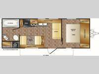 Floorplan - 2014 CrossRoads RV Z 1 ZT231FB