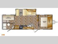 Floorplan - 2014 CrossRoads RV Z 1 ZT271BH