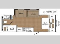 Floorplan - 2014 Dutchmen RV Aspen Trail 2470BHS Mini