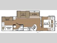 Floorplan - 2014 Dutchmen RV Aspen Trail 3130QBS