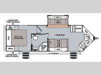 Floorplan - 2014 Forest River RV V-Cross Vibe 826VFK