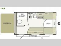 Floorplan - 2014 Starcraft  AR-ONE 15RB