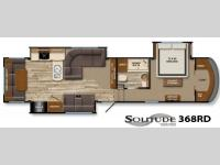 Floorplan - 2014 Grand Design Solitude 368RD