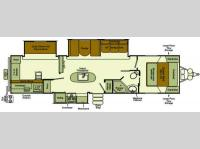 Floorplan - 2014 EverGreen RV Sun Valley S300BHSL