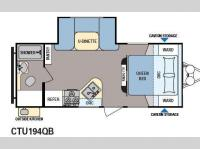 Floorplan - 2014 Dutchmen RV Coleman Explorer CTU194QB