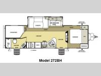 Floorplan - 2014 Forest River RV Salem Hemisphere Lite 272BH