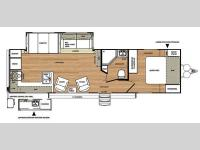 Floorplan - 2014 Forest River RV Salem Hemisphere Lite 282RK