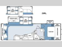 Floorplan - 2014 Winnebago Industries Towables ONE 29RL