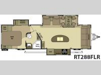 Floorplan - 2014 Open Range RV Roamer RT288FLR