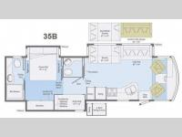 Floorplan - 2014 Winnebago Vista 35B