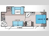 Floorplan - 2014 Jayco Jay Flight 25RKS