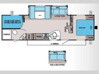 Floorplan - 2014 Jayco Jay Flight 28BHBE