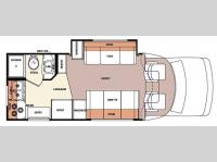 Floorplan - 2006 Forest River RV Lexington 235S