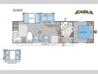 Floorplan - 2014 Jayco Eagle 29 5RKS