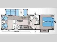 Floorplan - 2014 Jayco Eagle HT 26 5RLS