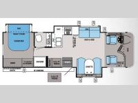 Floorplan - 2014 Jayco Precept 31UL