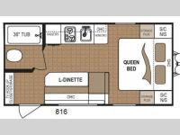 Floorplan - 2014 Dutchmen RV Dutchmen 816QB Mini