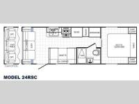 Floorplan - 2014 Palomino Canyon Cat 24RSC