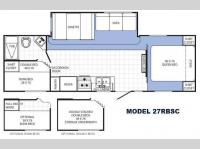 Floorplan - 2014 Palomino Canyon Cat 27RBSC