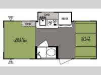 Floorplan - 2014 Forest River RV R Pod RP 177