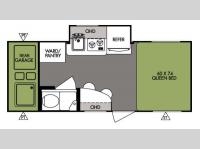 Floorplan - 2014 Forest River RV R Pod RP 181G