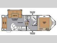 Floorplan - 2014 Forest River RV V-Cross Classic 245VCRD