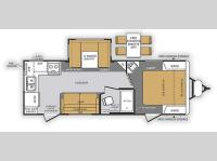 Floorplan - 2014 Forest River RV Wildcat Maxx 24RG