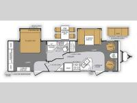 Floorplan - 2014 Forest River RV Wildcat Maxx 27FLS