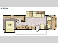Floorplan - 2014 Fleetwood RV Storm 32V