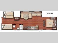 Floorplan - 2014 Gulf Stream RV Conquest 323TBR