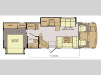 Floorplan - 2014 Fleetwood RV Terra 31TS
