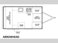 Floorplan - 2014 Chalet Folding Trailers Arrowhead