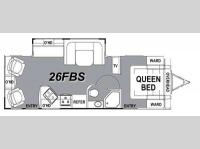 Floorplan - 2014 Eclipse Evolution X 26FBS