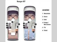 Floorplan - 2014 Roadtrek Ranger RT